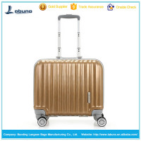 china alibaba top quality colorful hardcase luggage with aluminum frame