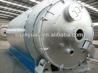 2014 profitable high performance waste tire/plastic pyrolysis plant with oil/carbon black