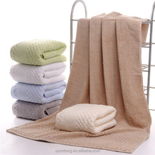100% Cotton Hotel Use Bath Towel Dying Color Towel