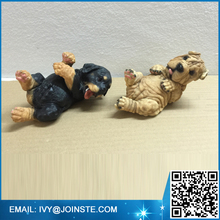 Hot sale resin statue home decoration dog statue polyresin dog figurines