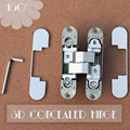 180 degree hinges three axis hinge 3 way adjustable concealed hinges