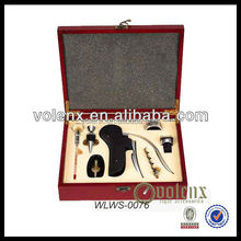 Lacquer Wood Wine Box With Accessories Shenzhen Manufacturer