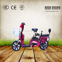Low price 48V350W electric bike moped with pedal