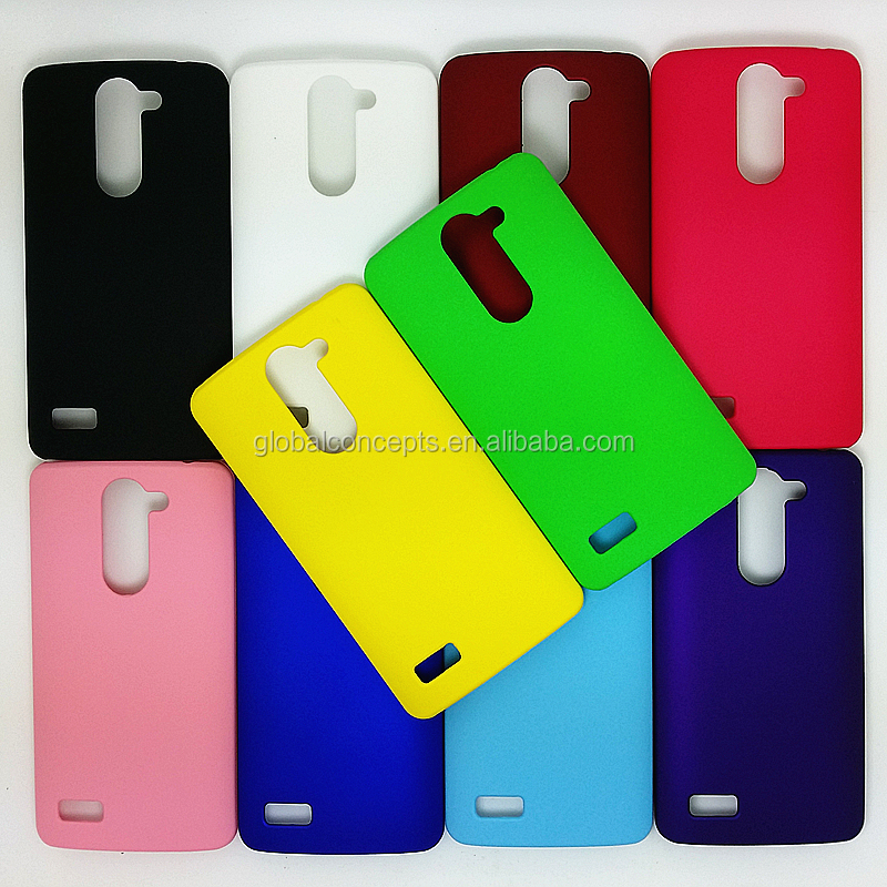 Colorful Rubber Oil Matte Hard Cover Case For LG L Bello D335