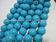 20mm HUGE Round Processed Turquoise Gemstone beads