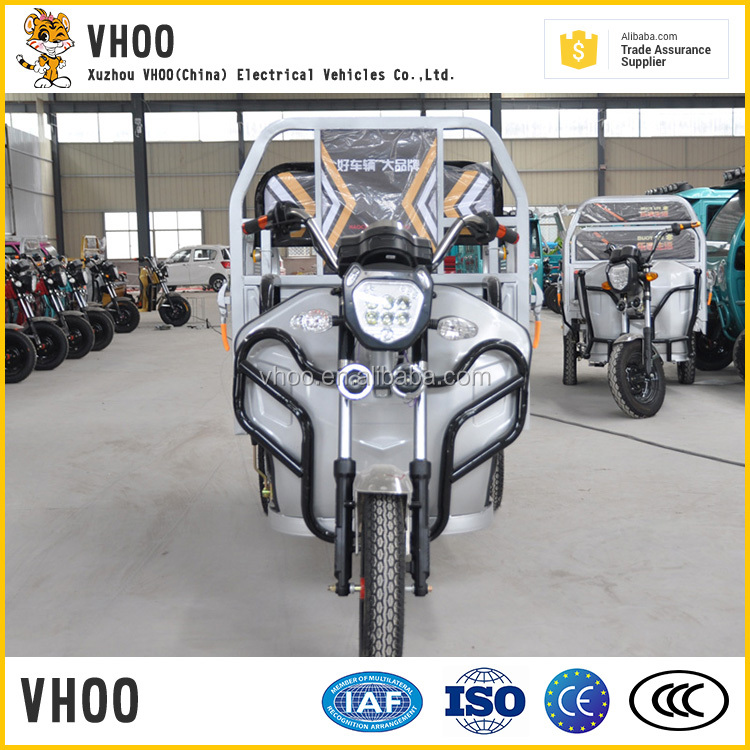 strong bearing tire for cargo use electric tricycle with three wheels