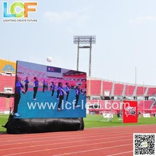 Football stadium P20 semi-outdoor LED display to show goals scored