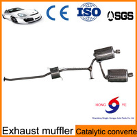 Car Accessories Exhaust System Pipe From