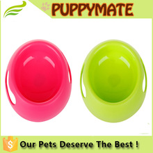 promotion environmental matte dog bowl suitable for s/m/l dogs,6 colours for option