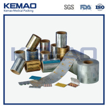 Heat sealing Pharmaceutical Foil for tablets and capsules packaging