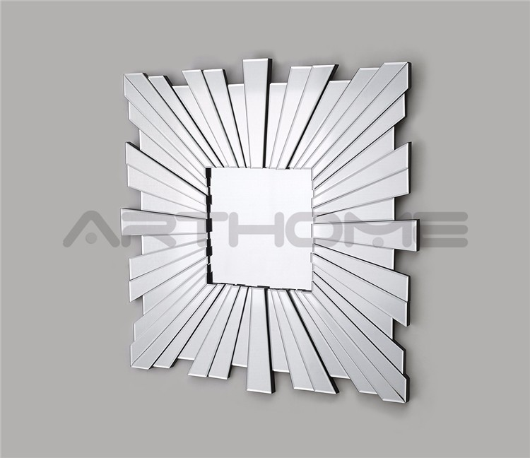Ease Maintenance China Supplier Best Core Colored New Design Craft Square Mirror