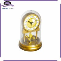 plastic table twisting desk clock time clock funny time clock