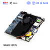 Fanlees thin client nano itx motherboard with intel 1037 processor mini pc board