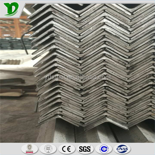 top quality hot rolled equal or unequal steel angle with competitive price