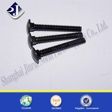 All Thread Black Galvanized High Quality Carriage Bolt