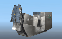 New Screw Sludge Dehydrator mini Waste Water Treatment Plant
