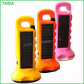 wholesale high quality promotion plastic solar energy flashlights price