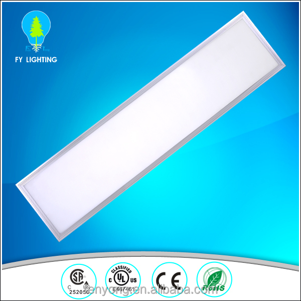 100lm/w rectangular recessed led ceiling light panel 300x1200mm UL CE Rohs