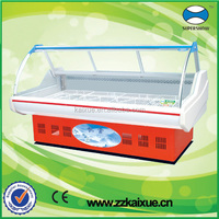 commercial used meat refrigerator freezer cabinet
