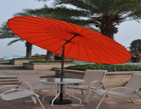 Cora Promotional Patio/Garden/Outdoor Umbrella Modern China Beach Sun Parasol