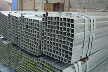 OEM steel galvanized square tube and piping