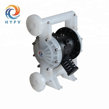 Factory Price Plastic Pneumatic Double Diaphragm Pump