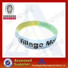 fashionable cheap thin silicone bracelet