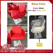 Many color !! 2017 hot sale hair salon furniture Red lady makeup chair cheap barber chair