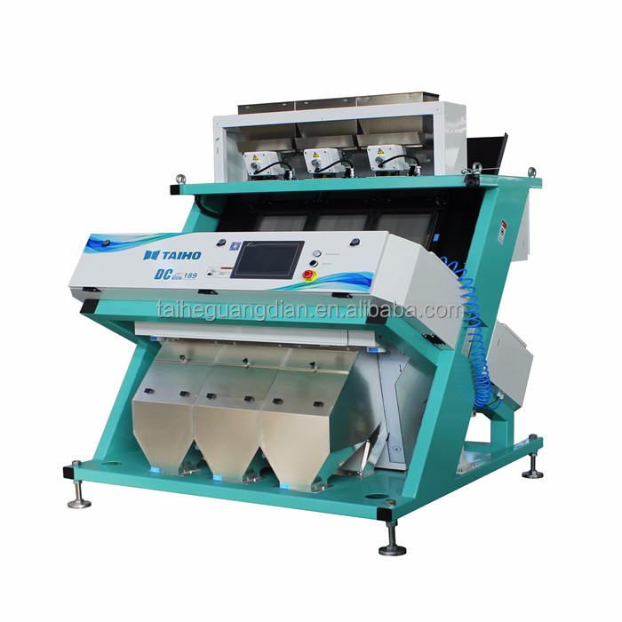 CCD Corn color sorting machine agricultural equipment