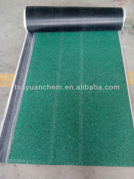 Asphalt roofing felt for waterproofing