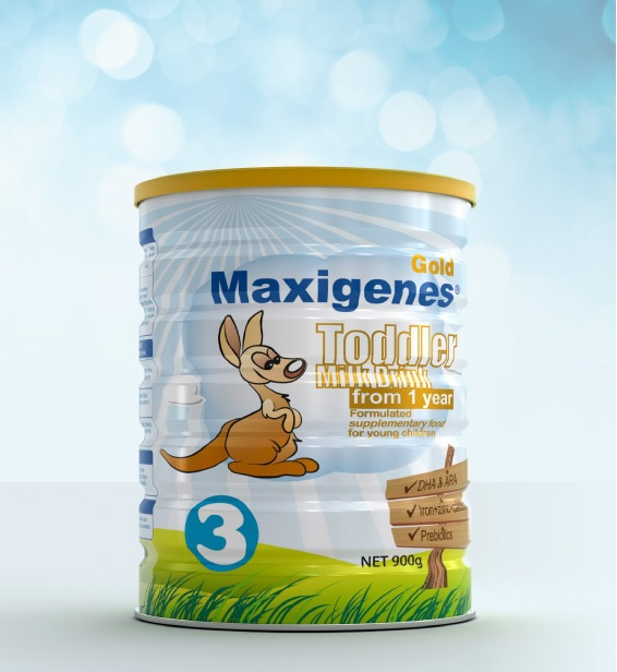 Maxigenes GOLD Stage 3 Infant Formula (Toddler) 12+ months New Zealand NZ Baby 1+ year