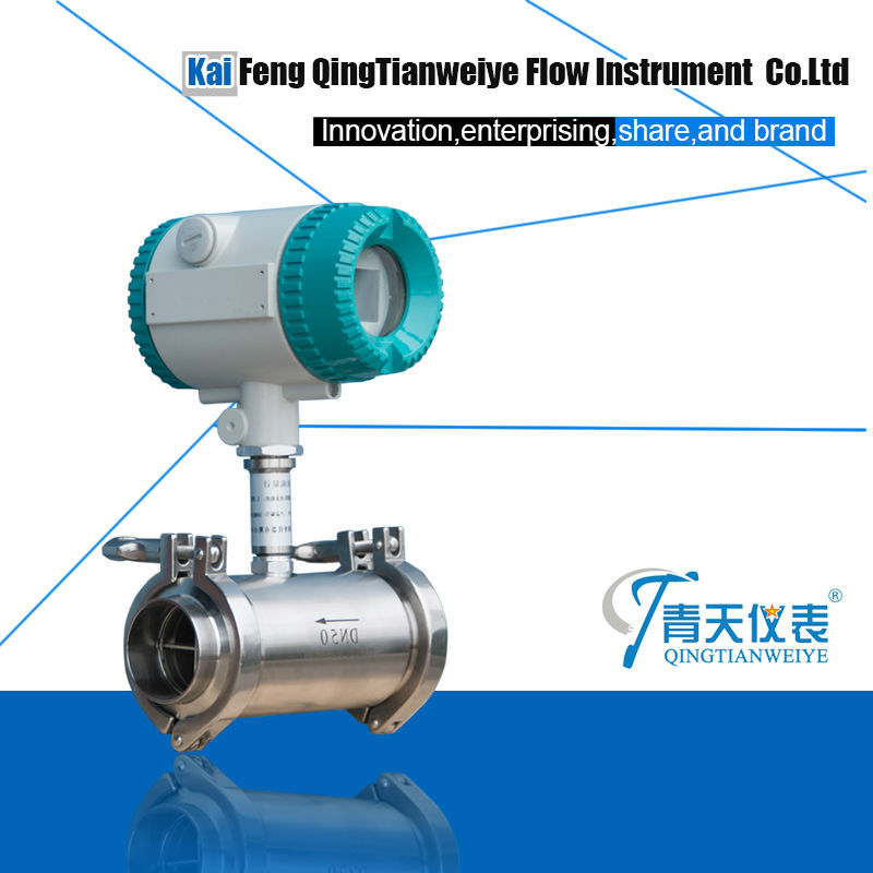 SS304 body Hot-sale oil turbine flow meter