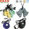 Baby Gift Bpa Free silicone pendant teething wholesale