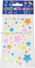Puffy Star Sticker