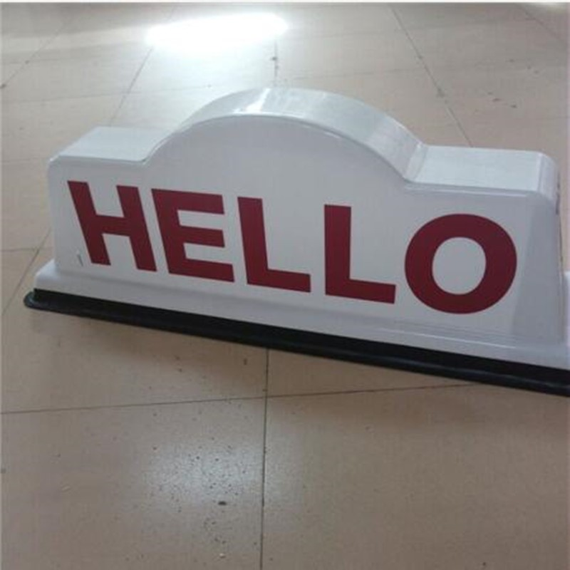 New Led Taxi Top Advertised Light Box With China Factory