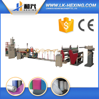 Trustworthy China Supplier pe foam sheet/film production line