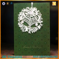 Making pop up greeting card / christmas pop up card wholesale