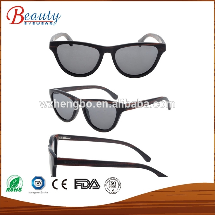2017 Wooden Eyeglasses Without Nose Pads