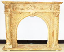 Good Price Of Antique home decorative fireplace mantel