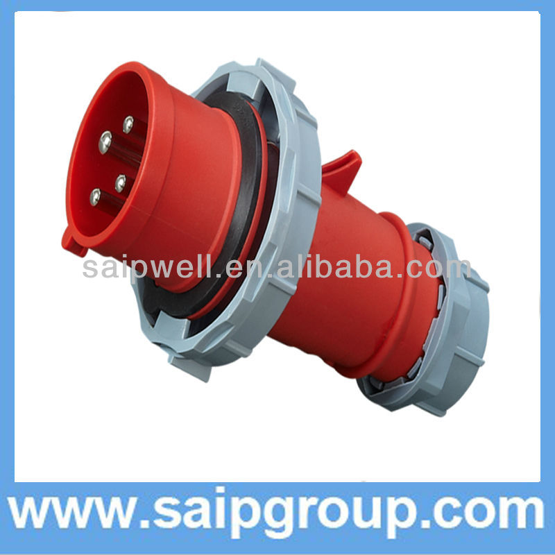 4P 32A 400VAC plug for reefer container