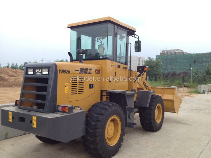 2018 China hot sale mini skid steer wheel loader with attachments