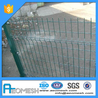 Hot sale Aluminum round top garden wire fence for yards