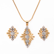 Beautiful Designed Traditional American Gold Covering Fashion Diamond Jewellery