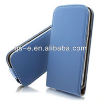 Promotion Clearance genuine PU leather flip wallet cover case for samsung galaxy S4 i9500