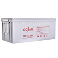 Ups usage and free maintenance type deep cycle12v 200 battery