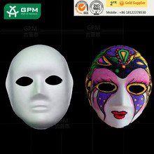 Paper mardi gras masks made in China