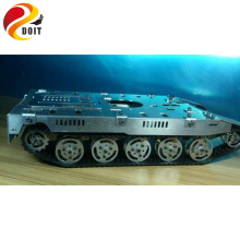 Official DOIT Oversized Tank Model Chassis Track Tracked Suspension Damping Crawler Capterpillar RC Toy for Crawler Robot