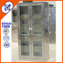 double doors stainless steel file cabinet for office use manufacturer China