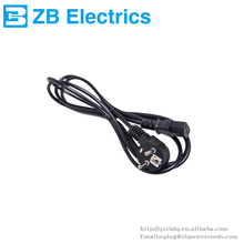 European style new three pin socket power cord European power line