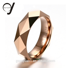 Fashion Jewellery Unique Fancy Rings Tungsten Carbide Gold Ring Designs for Men
